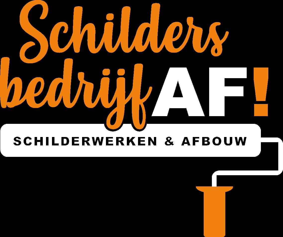Schildersbedrijf AF! Logo